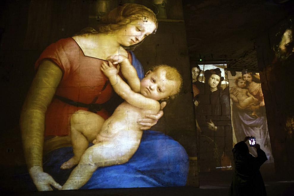 шоу 2015 года с названием «Микеланджело, Леонардо да Винчи, Рафаэль. Гиганты эпохи Возрождения».