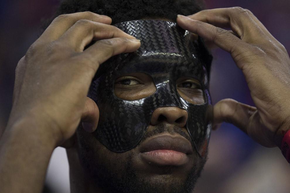 Камерунский баскетболист Джоэл Ханс Эмбиид