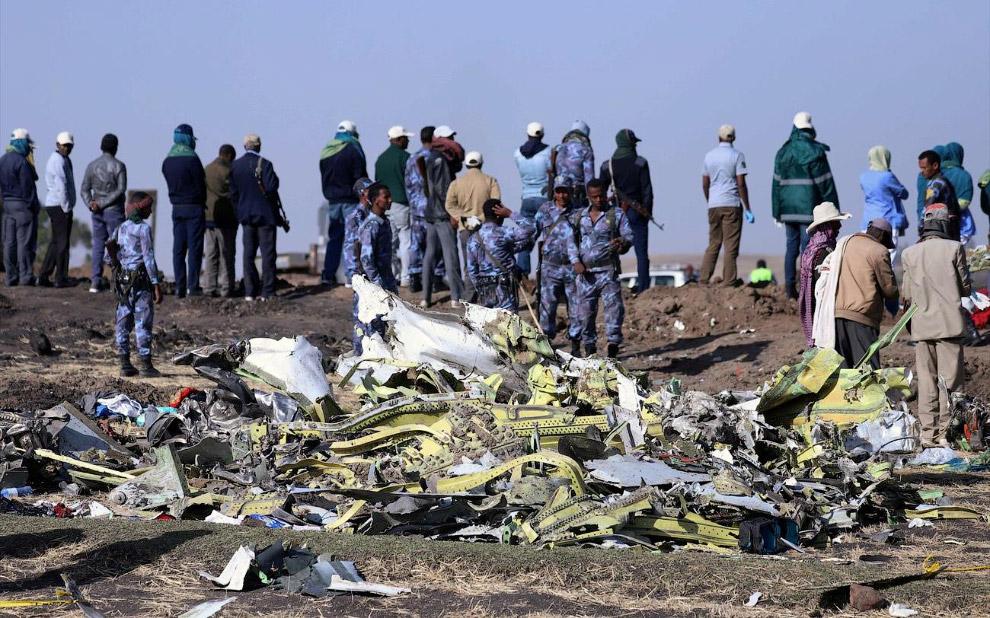 Авиакатастрофа самолета Boeing 737 MAX 8