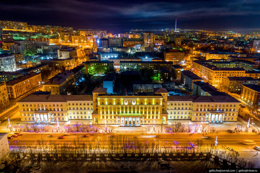 Здание правительства.