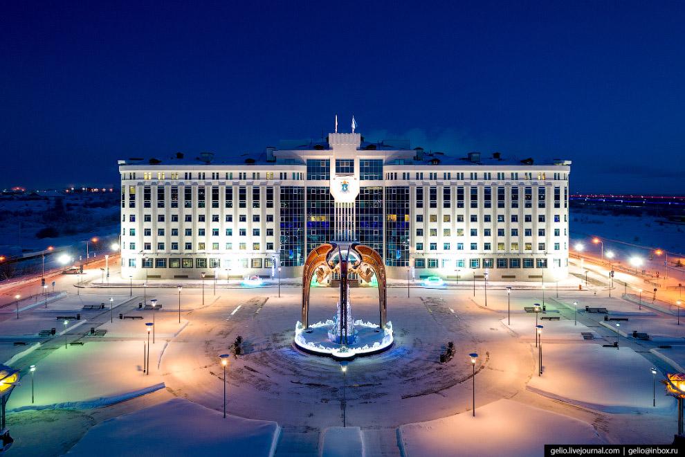 Будівля уряду Ямало-Ненецького автономного округу
