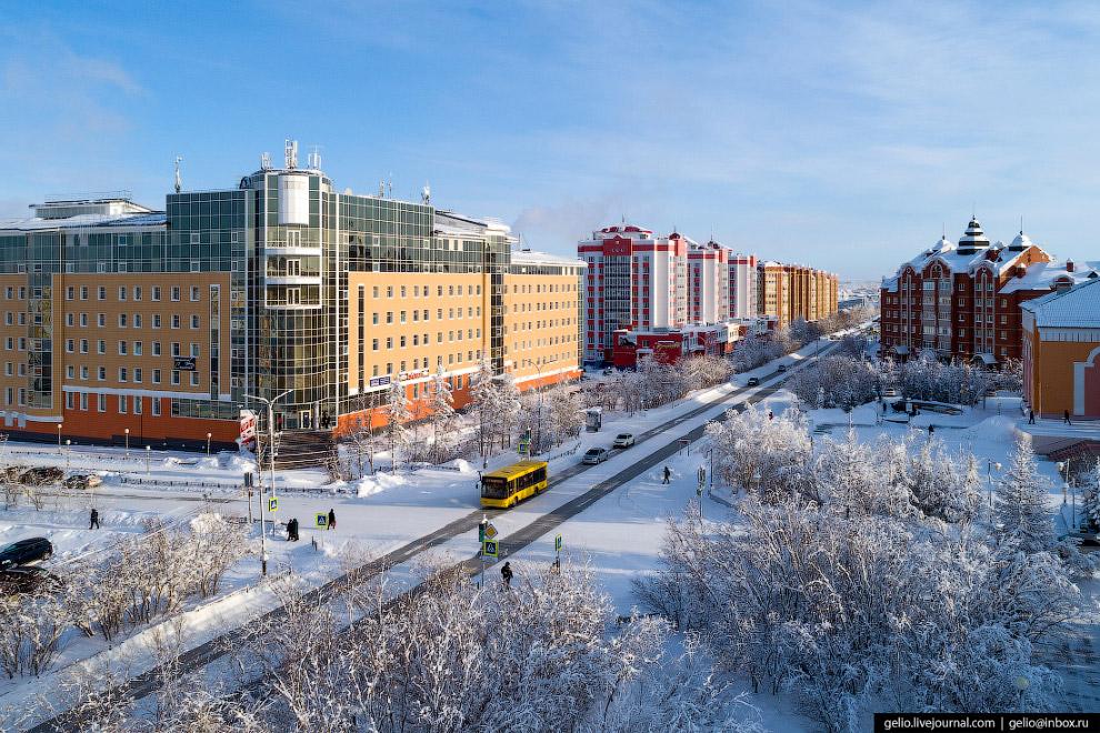 Улица Республики и площадь Ленина