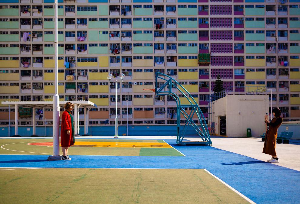 Солнечный день в Гонконге