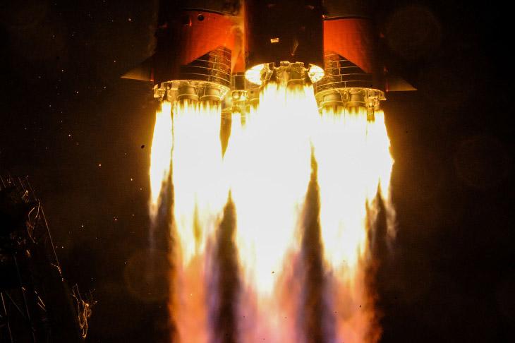 Старт космического корабля «Союз МС-12»
