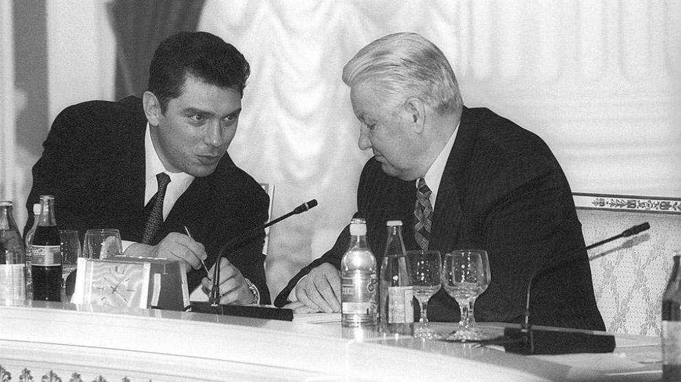 Нємцов і Єльцин