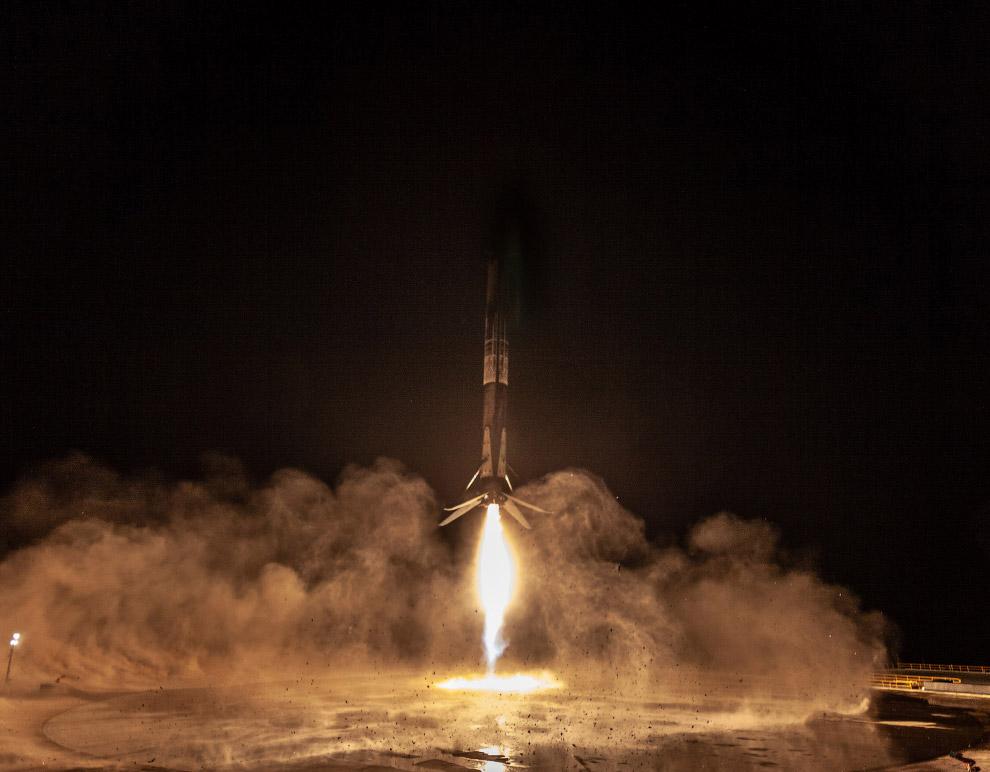 Первая ступень ракеты Falcon 9