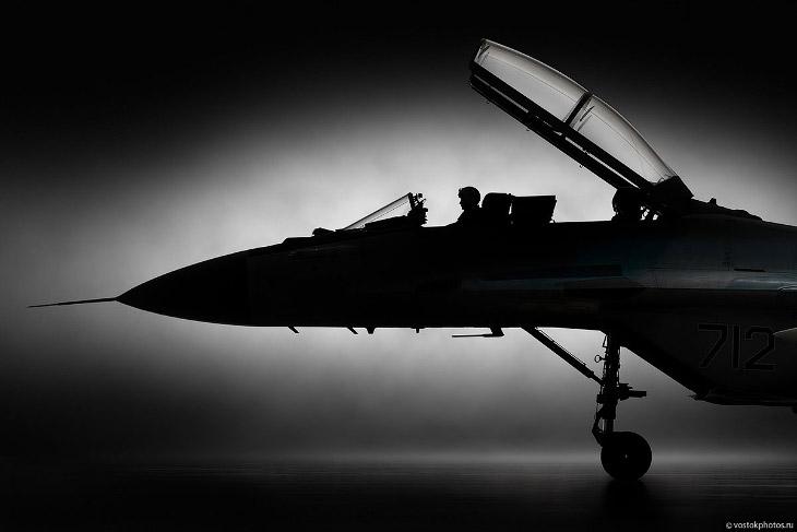 Фотосъемка истребителя МиГ-35