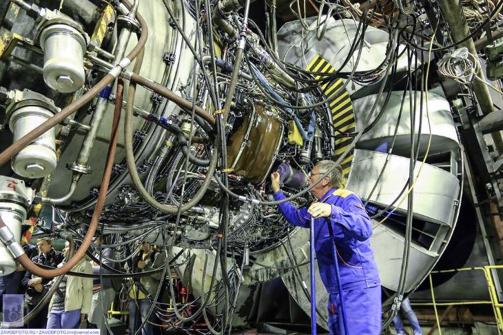Как выглядят новые российские двигатели ПД-14 для самолета