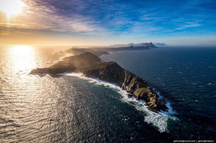 Мыс Доброй Надежды – столкновение двух океанов