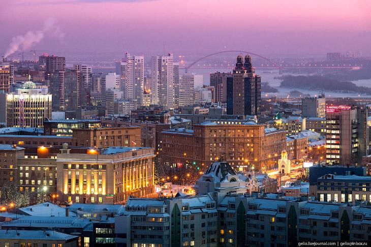 Зимний Новосибирск — 2019