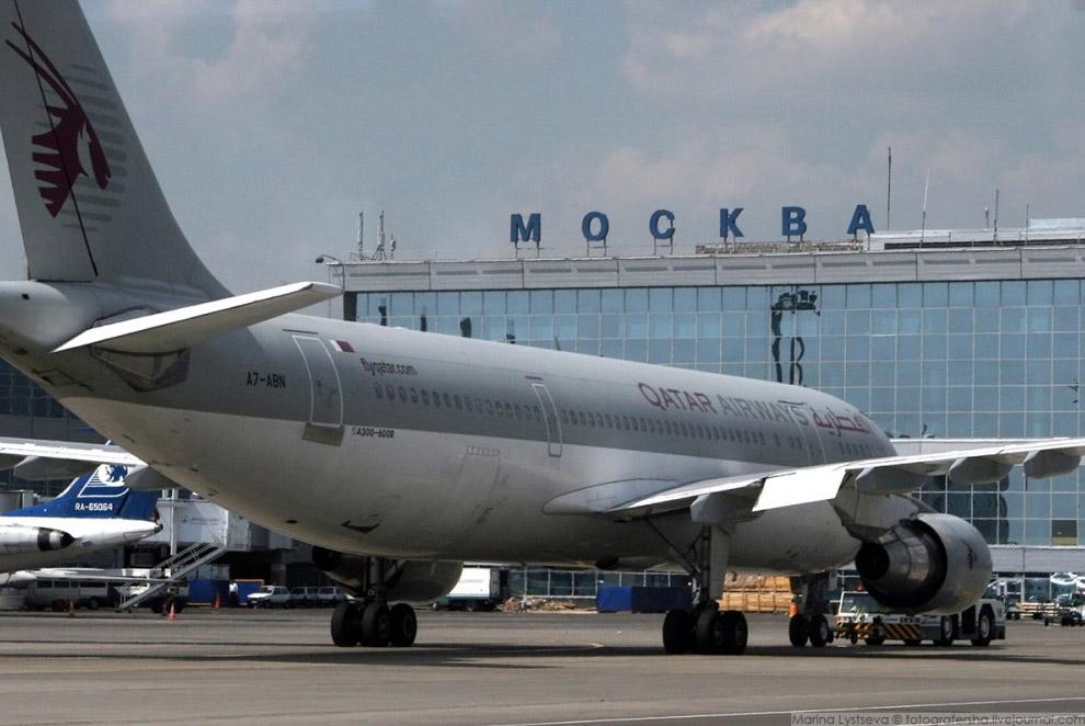 A-300-600R QATAR AIRWAYS (A7-ABN) в столичному аеропорту Домодєдово, 2007 рік.