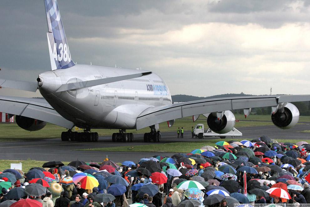 А380 на авиасалоне ILA, Берлин, 2006 год.