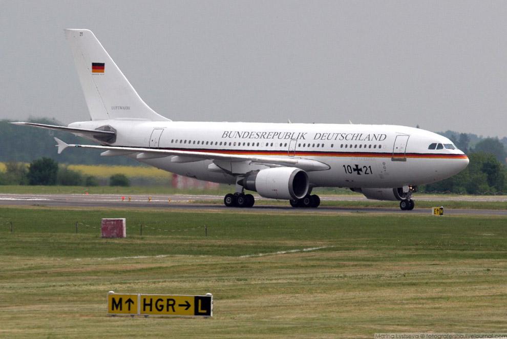Урядовий борт А310 на авіасалоні ILA, Берлін, 2006 год.