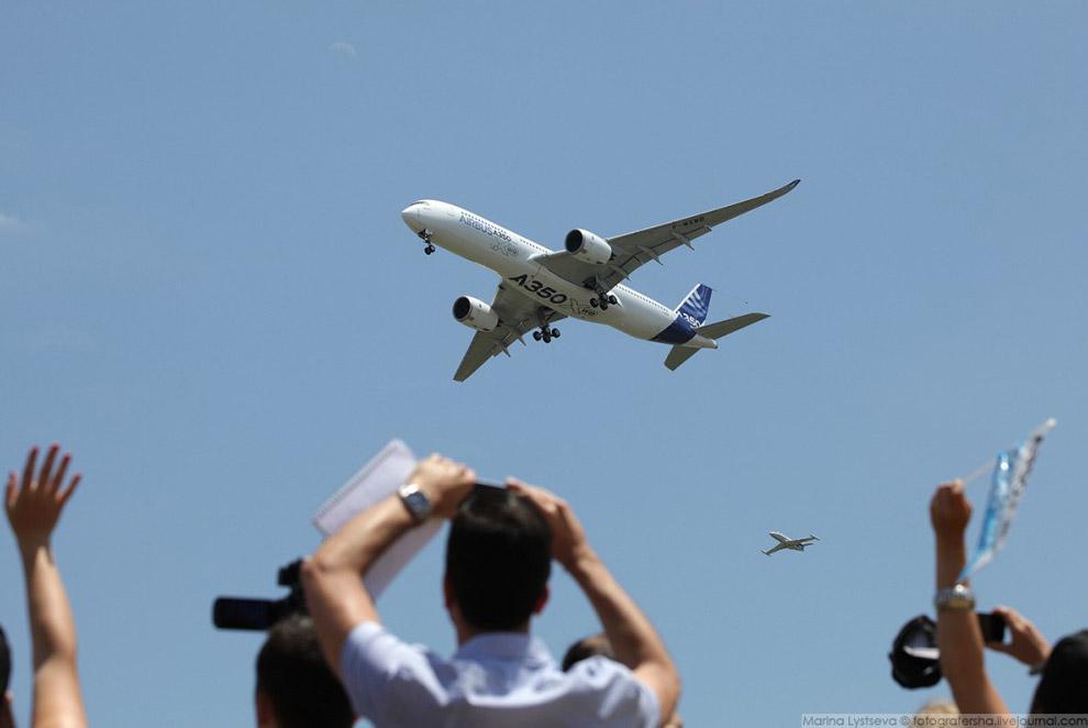 Первый полёт А350, 14 июня 2013 года, Тулуза.