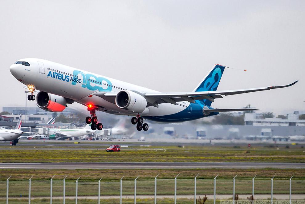 Первый полёт А330neo, Тулуза, октябрь 2017 г.
