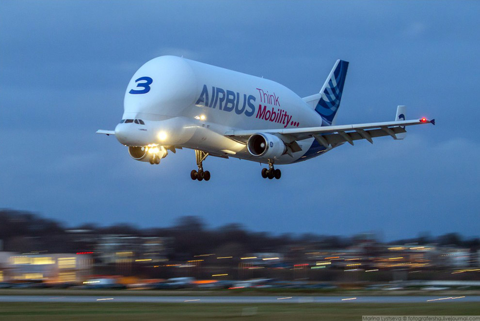 Airbus A300-600ST Super Transporter