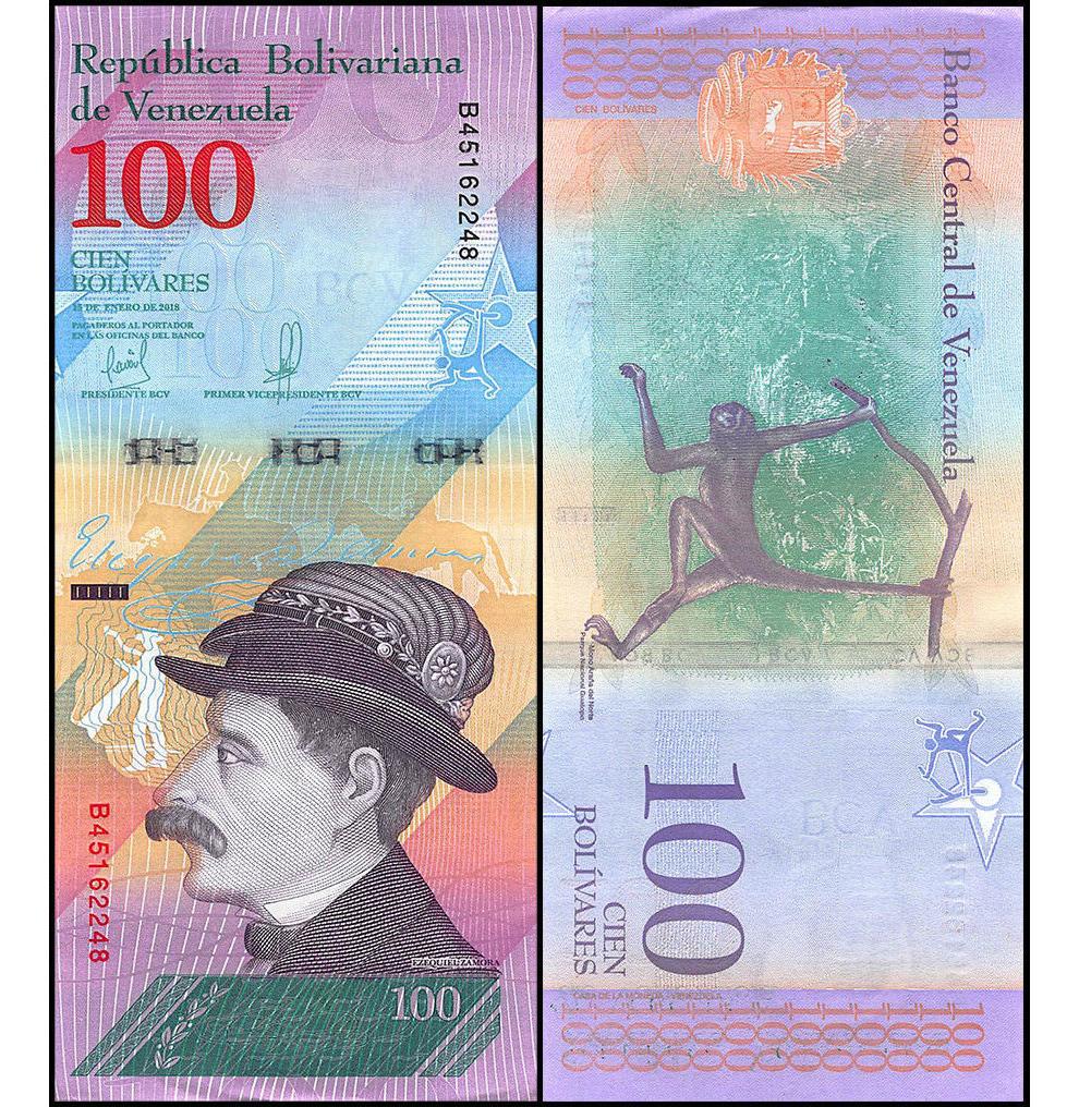 100 венесуэльских боливаров