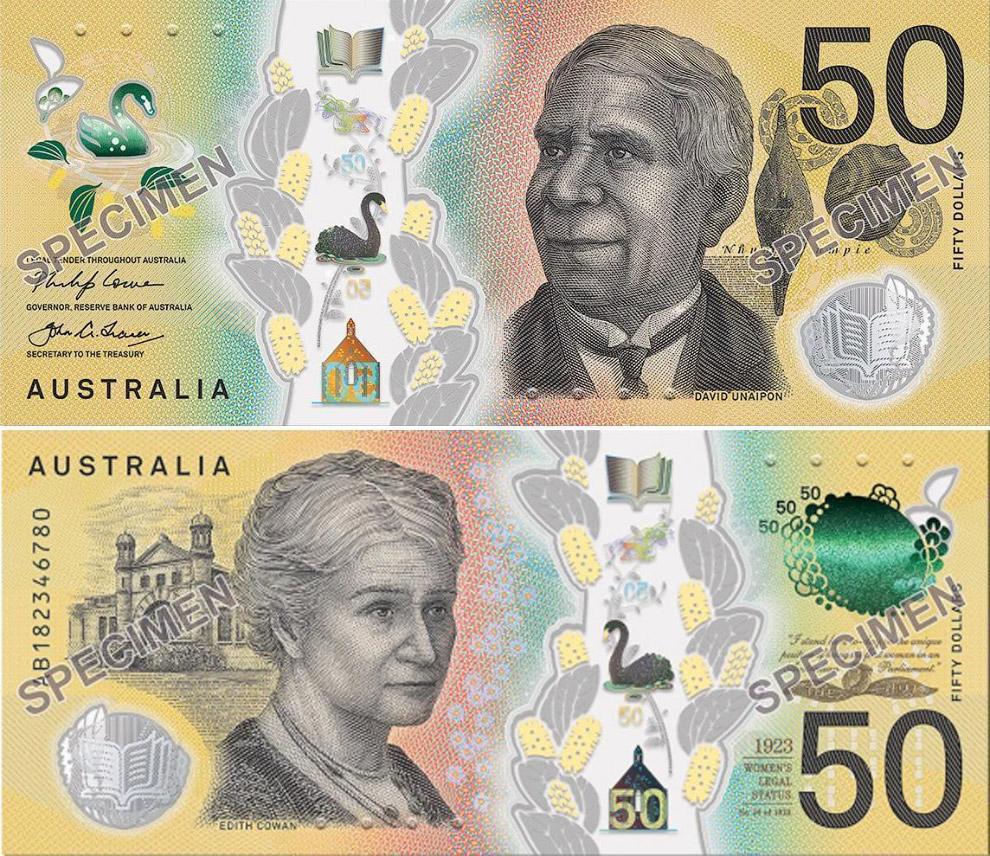 50-долларовая банкнота Австралии
