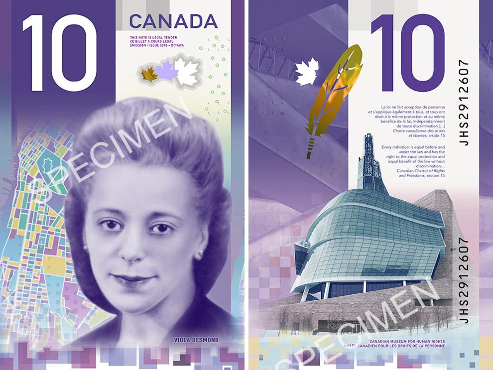 10-долларовая банкнота Канады