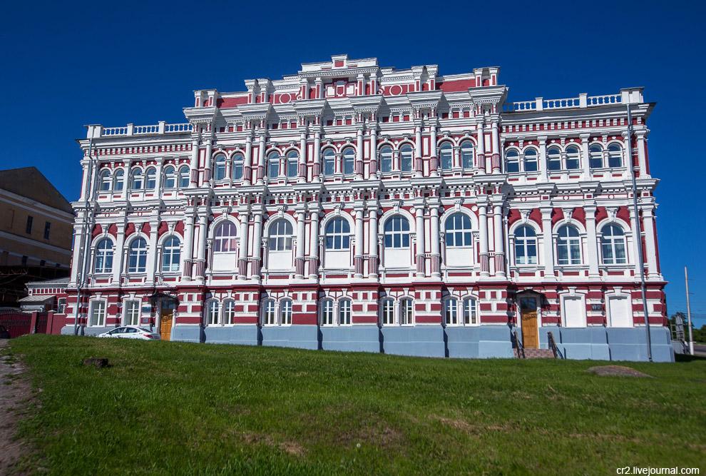 Здание дворянского собрания, теперь филармония