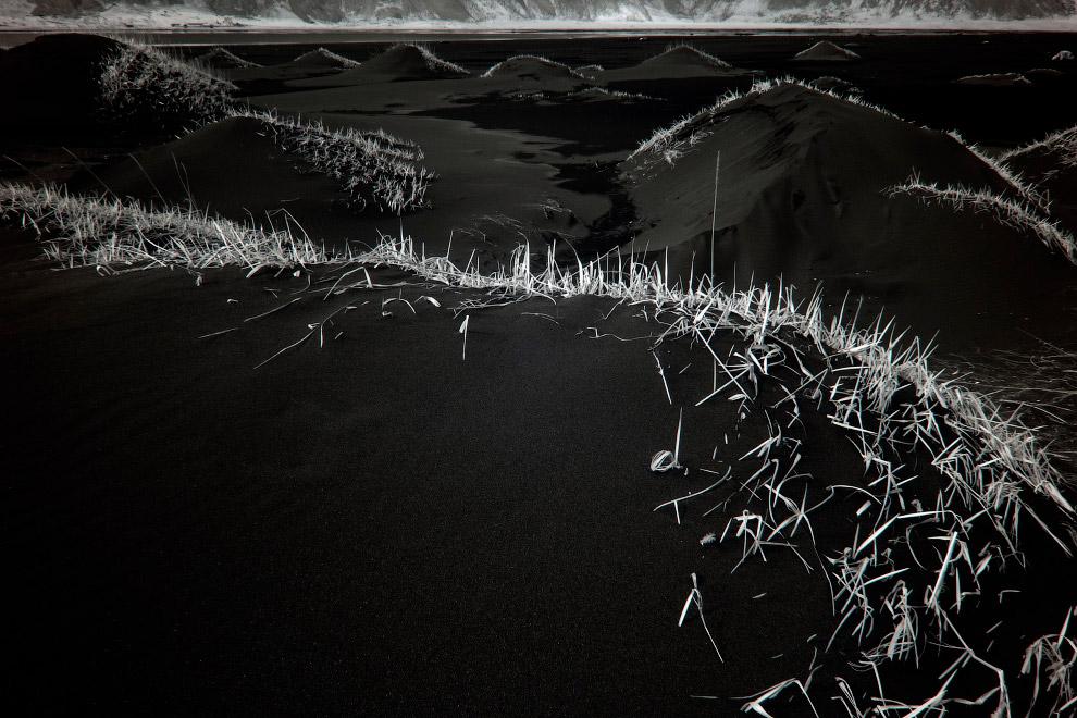 Черные песчаные дюны, Стоккснес, Исландия