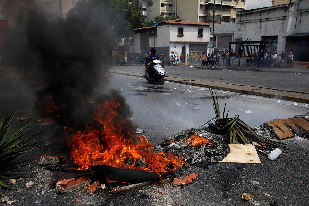 Барикада, Каракас, Венесуела