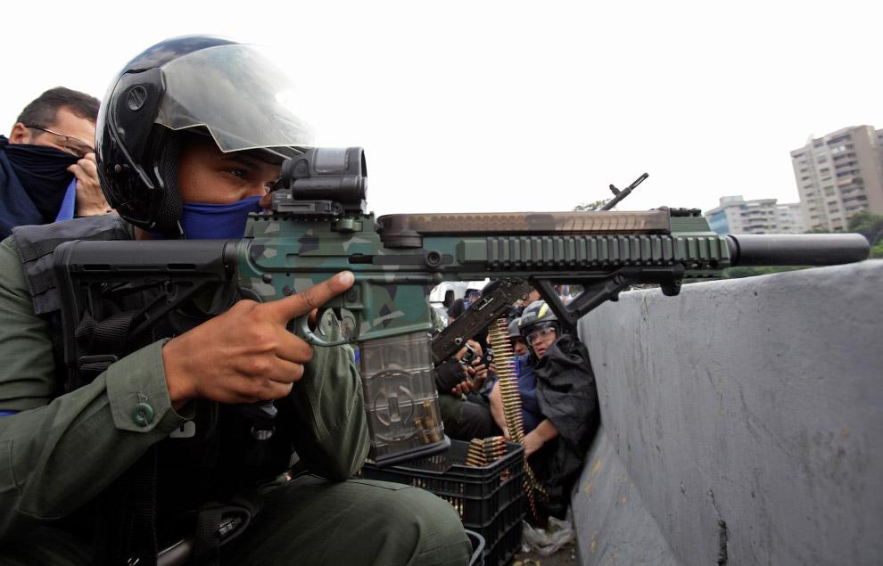 Перебежавшие на сторону Гуайдо военные