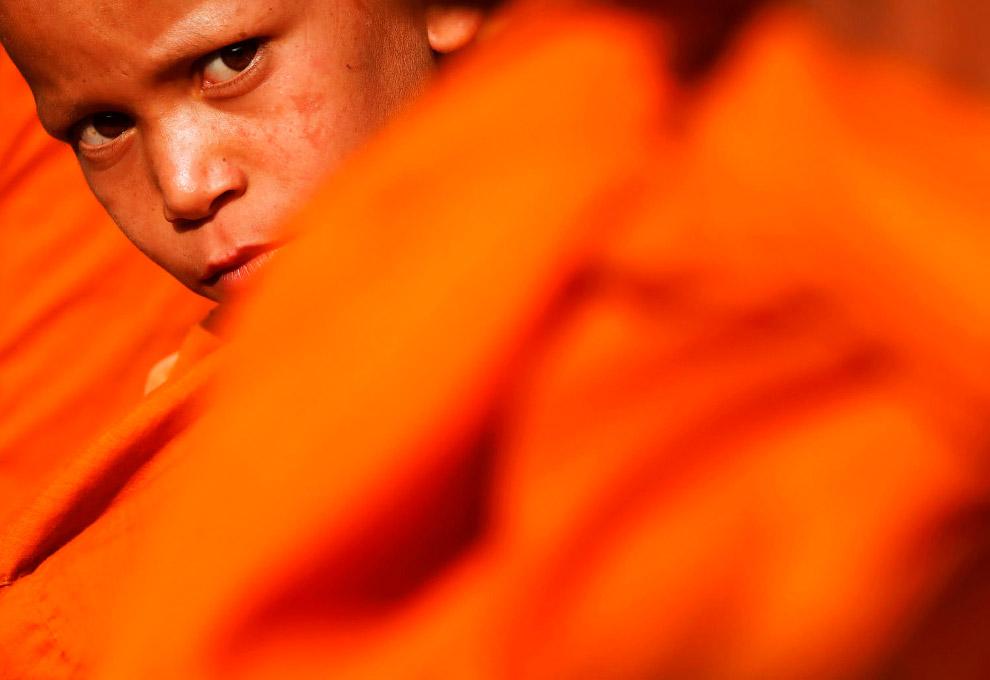 Подозрительный монах, Катманду, Непал