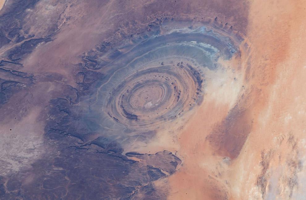 Пустыня Сахаря в Мавритании