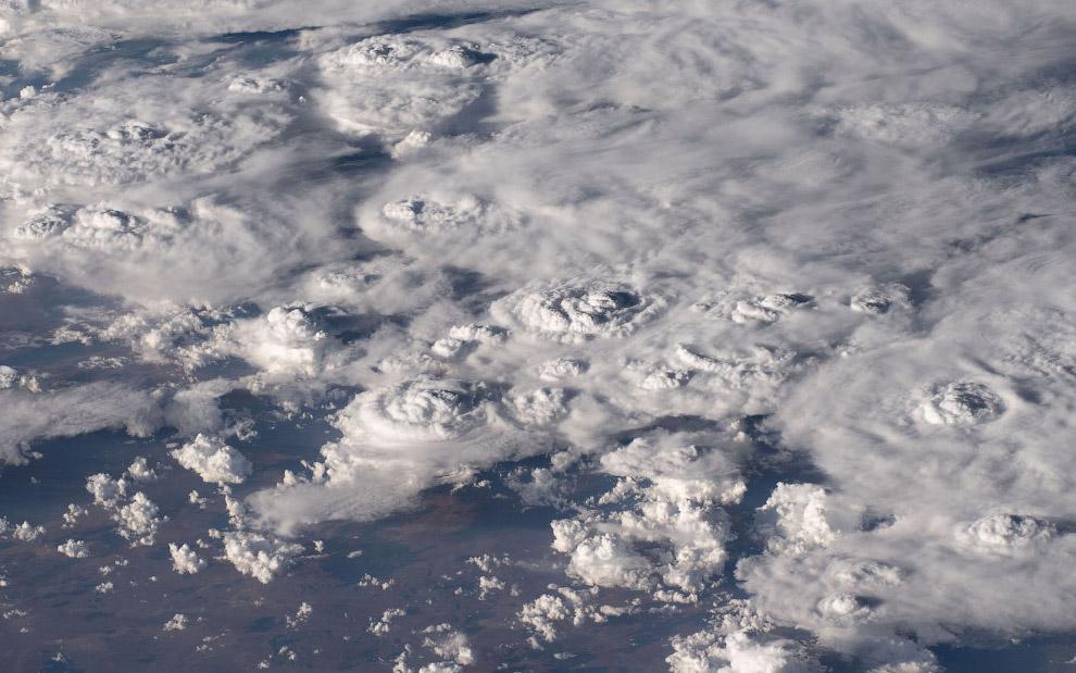 Облака над Южной Африкой