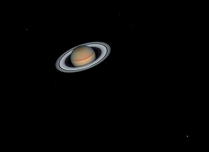 Кольца и спутники Сатурна