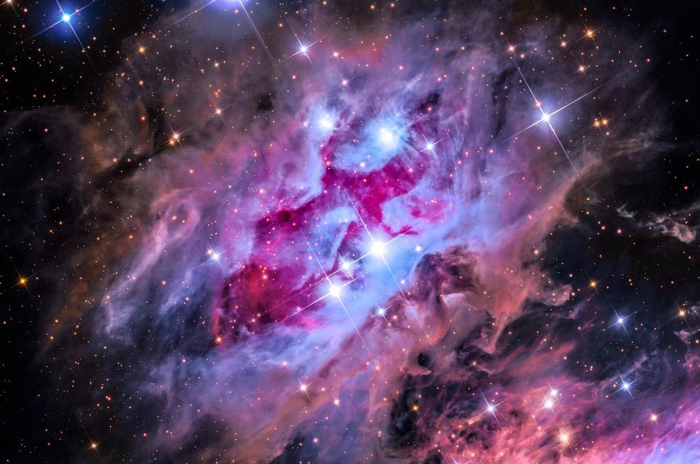 Туманность NGC 1977 (туманность «Бегущий человек»)