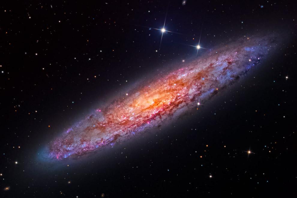 NGC 253 (галактика Скульптор)