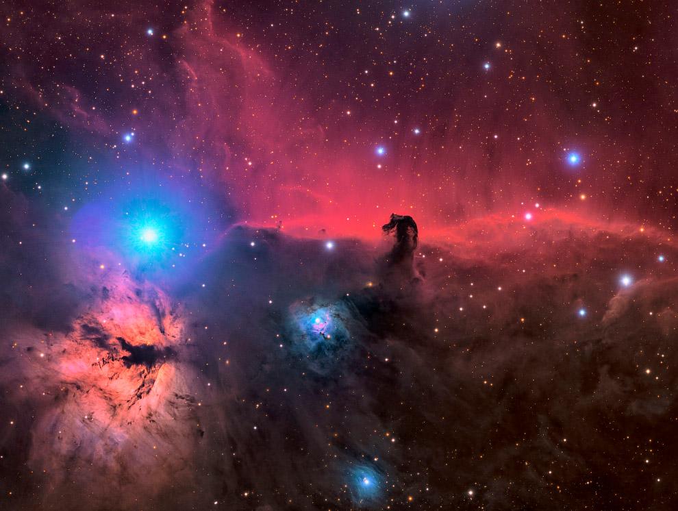 Тёмная туманность Конская Голова
