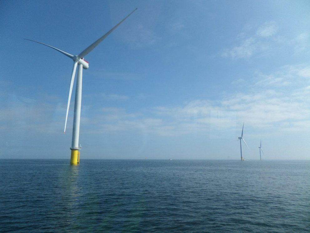 Найбільша в світі морська вітряна електростанція Hornsea One