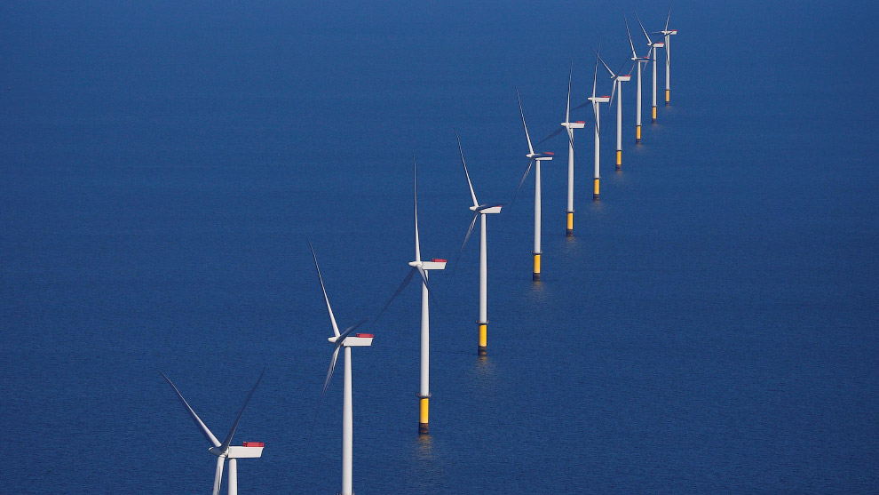Крупнейшая в мире морская ветряная электростанция Hornsea One