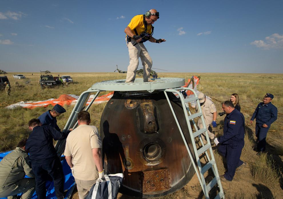 Expedition 59 Soyuz MS-11 Landing