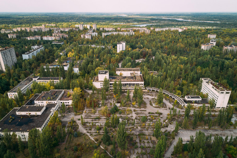 Pripyat - Lenin Square