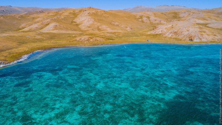 Озеро Сонкель: неизведанный северный берег