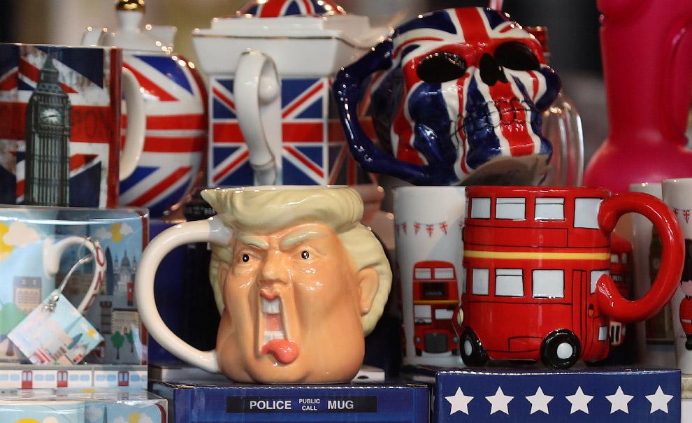Сувенирная лавка в Лондоне