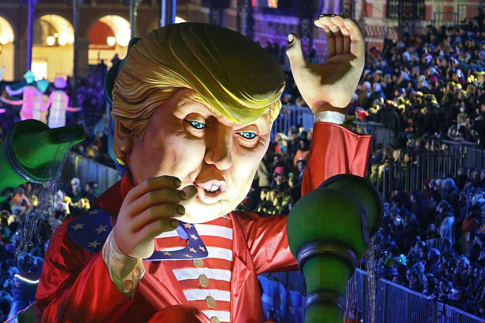 Карнавал в Ницце и неожиданно приличный Трамп