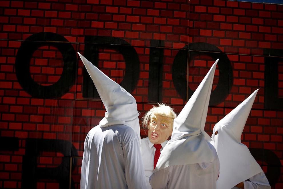 Трамп и Ку-клукс-клан