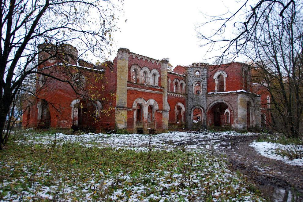 Усадьба Врангелей в Торосово, Ленинградская область