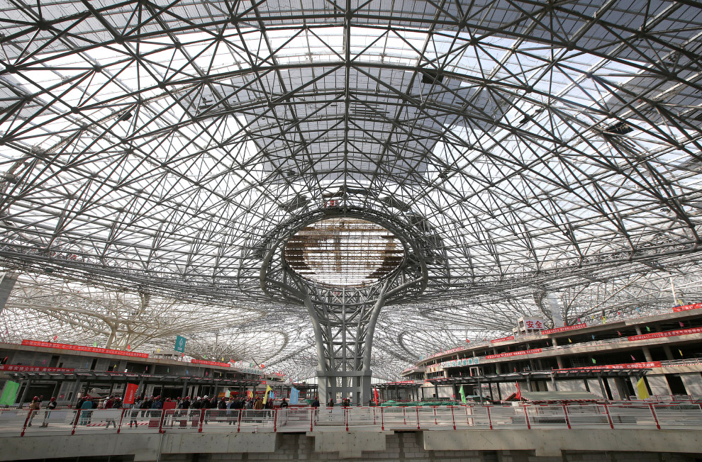 Пекин Дасин — крупнейший в мире аэропорт