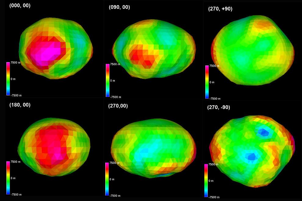 Еще одна модель астероида Психея