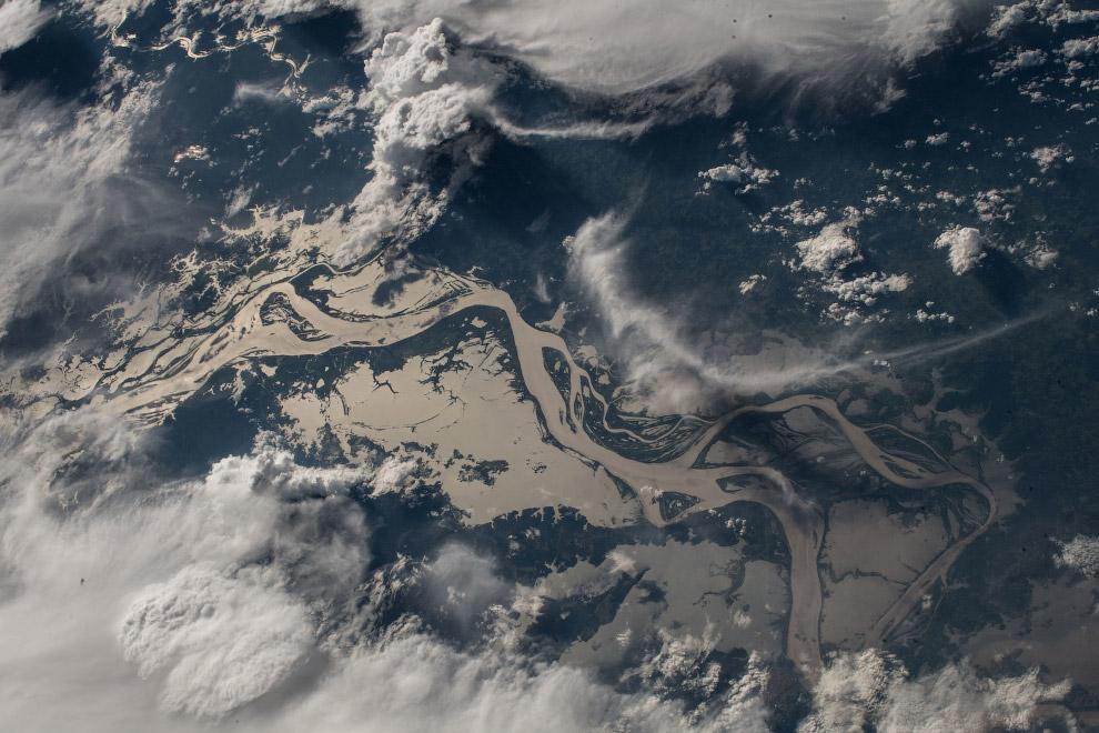 Река Амазонка.
