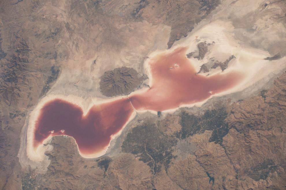 Озеро Урмия, Иран.