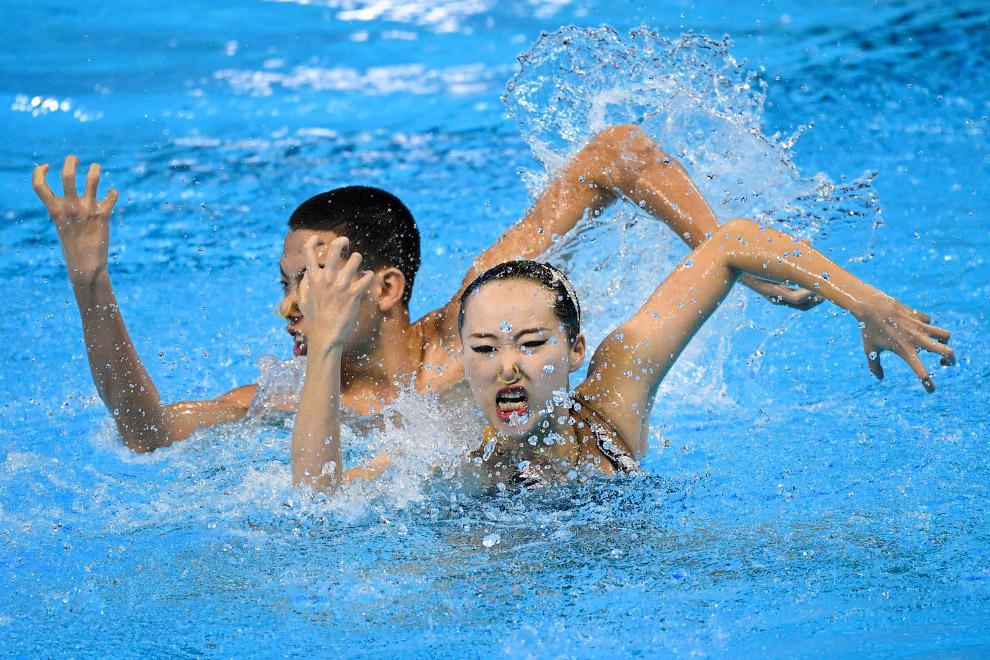 Китайцы Ши Хаою и Чжан Яи