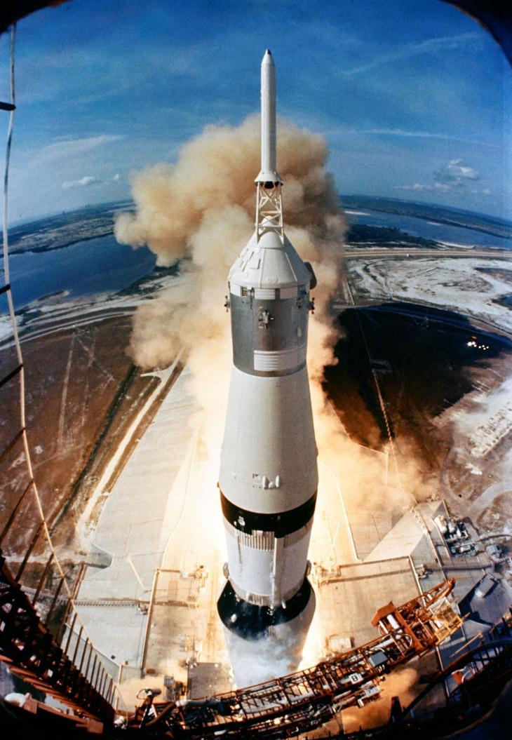 Взлет «Аполлона-11»