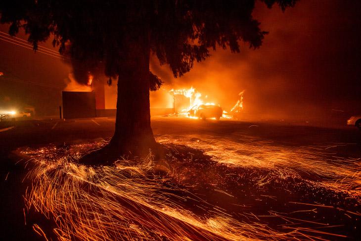 Лесные пожары в Красноярском крае. И не только